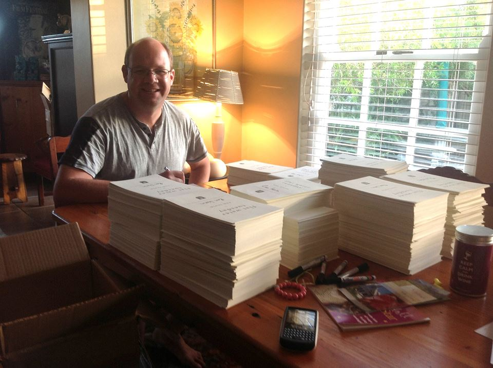 Ron Irwin signing 5000 Copies